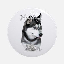 Husky Mom2 Ornament (Round)