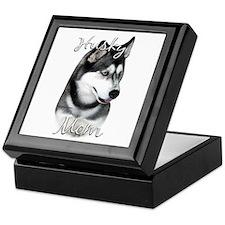 Husky Mom2 Keepsake Box