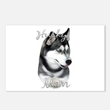 Husky Mom2 Postcards (Package of 8)