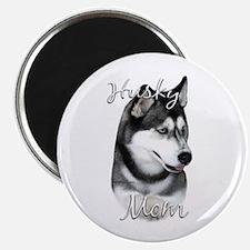 Husky Mom2 Magnet