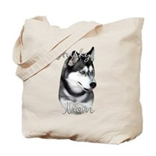 Husky Mom2 Tote Bag