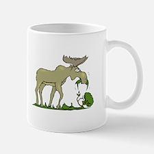Moose Eating Mugs