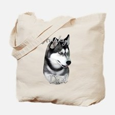 Husky Dad2 Tote Bag