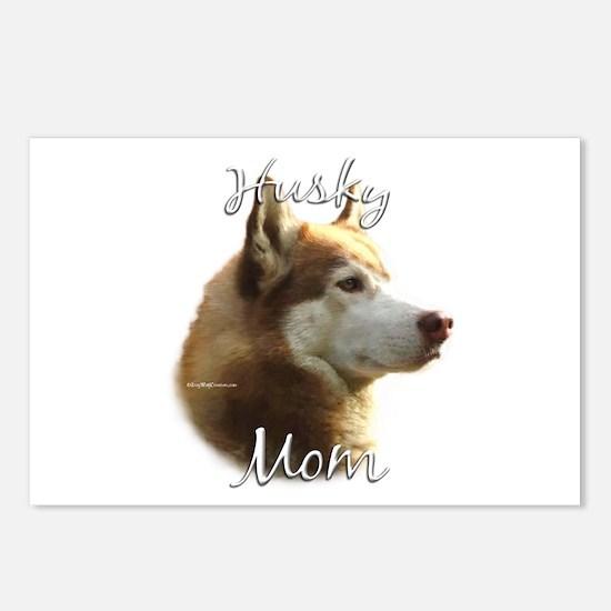 Husky Mom2 Postcards (Package of 8)