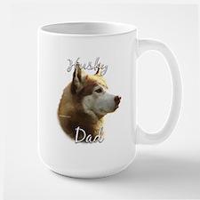 Husky Dad2 Large Mug