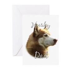 Husky Dad2 Greeting Cards (Pk of 20)