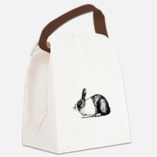Holland rabbit Canvas Lunch Bag