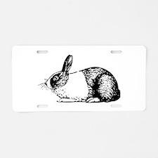 Holland rabbit Aluminum License Plate