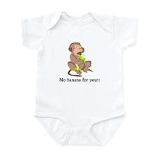 No Banana for you Infant Bodysuit