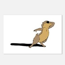 Groundhog sad Postcards (Package of 8)