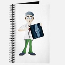 Doctor cartoon with x-ray Journal