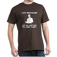 Lousy Rickrolled T-Shirt