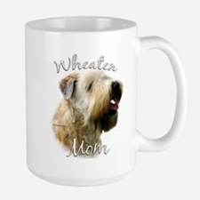 Wheaten Mom2 Large Mug