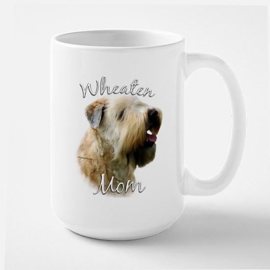 Wheaten Mom2 Large Mug