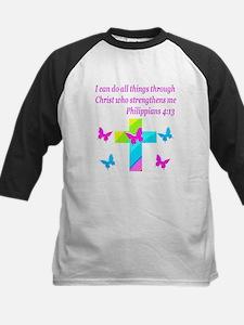 PHILIPPIANS 4:13 Kids Baseball Jersey