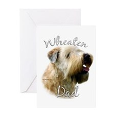 Wheaten Dad2 Greeting Card