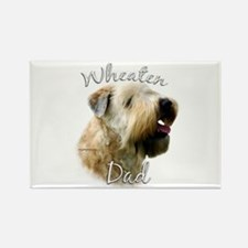 Wheaten Dad2 Rectangle Magnet