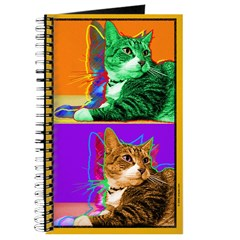 Tabby Cat Art Journal