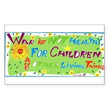 Smaller peace sticker
