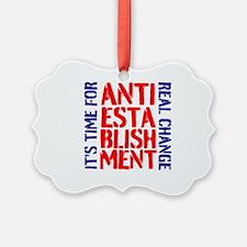Anti-Establishment Ornament
