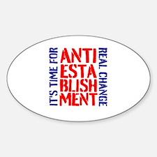 Anti-Establishment Decal