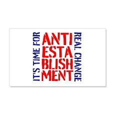 Anti-Establishment Wall Decal