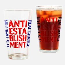 Anti-Establishment Drinking Glass