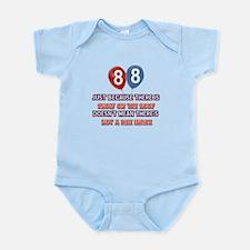88 year old designs Infant Bodysuit