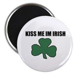 KISS ME IM IRISH Magnet