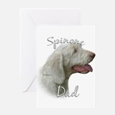 Spinone Dad2 Greeting Card