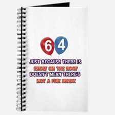 64 year old designs Journal