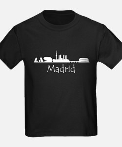 Madrid Spain Cityscape T-Shirt