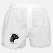 Staffy Mom2 Boxer Shorts