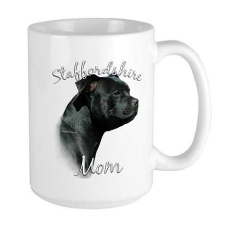 Staffy Mom2 Large Mug