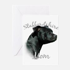 Staffy Mom2 Greeting Cards (Pk of 20)
