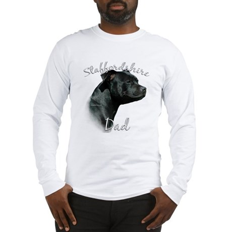 Staffy Dad2 Long Sleeve T-Shirt