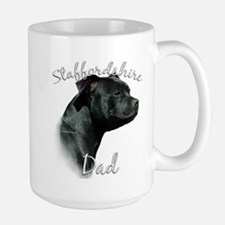 Staffy Dad2 Large Mug