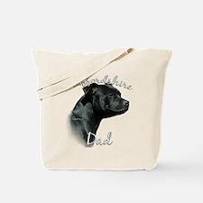 Staffy Dad2 Tote Bag