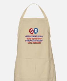 60 year old designs Apron