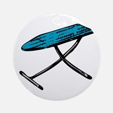 Ironing board Round Ornament