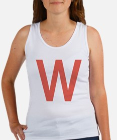 Cute Big w Women's Tank Top