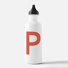 Unique Big letter Water Bottle