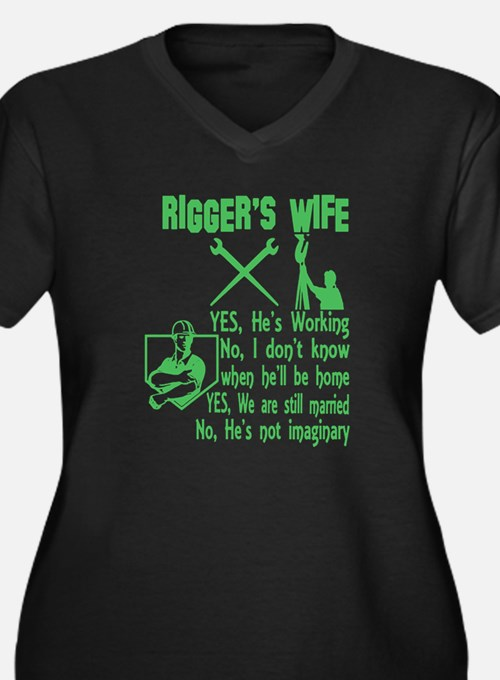 Rigger's Wife Plus Size T-Shirt