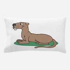 Groundhog cartoon Pillow Case