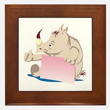 Rhino Frame Framed Tile