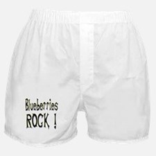 Blueberries Rock ! Boxer Shorts
