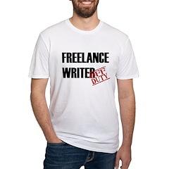 Off Duty Freelance Writer Shirt