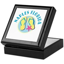 Naples Flip Flops Keepsake Box