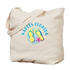 Naples Flip Flops Tote or Beach Bag