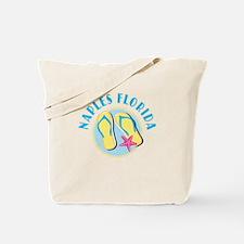 Naples Flip Flops Tote or Beach Bag